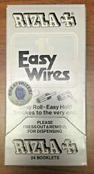 Vintage 1980 Cigarette Rizla Easy Wires 1 1/2 Box Of 24 Rolling Papers Randy's