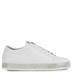 Le Silla Sneaker Rainbow Leather White With 163ls