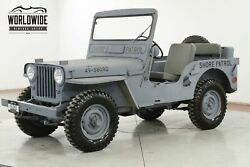 1948 JEEP WILLYS CJ 2A RESTORED NEW PAINT AND INTERIOR SHOW READY CALL 1-877-422-2940! FINANCING! WORLD WIDE SHIPPING. CONSIGNMENT. TRADES. FORD
