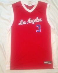 Collectible Pre-owned Nba Chris Paul Los Angeles Clippers Jersey Sz L