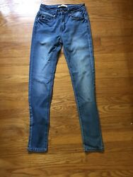 CUTE Womens Kancan Jeans Size 5 26 Ankle Skinny Priority SHIP $23.99