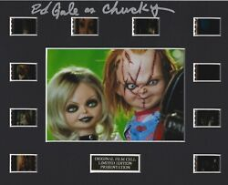Seed Of Chucky 2004 Authentic 35mm Movie Film Cell 8x10 Matted Display - W/coa