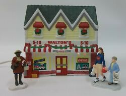 Town Square Coca Cola Christmas Village Waltons Five And Dime Store And Accessories