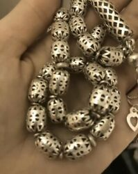 Yemeni Silver Prayer Beads Rossary Beads One Of A Kind