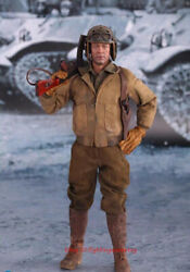 Did A80113 1/6 Wwii 2nd Armored Division Heelo On Wheels Brad Pitt Model Instock