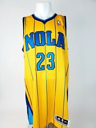 Authentic Adidas Anthony Davis New Orleans Hornets Jersey Size 2xlt - New W/tags