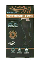 Copper Fit Unisex 2.0 Easy-On and Easy-Off Knee High Compression Socks SM $9.99