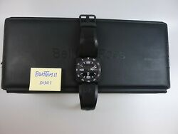 Bell And Ross Watch Gts Steel Black Black Rubber