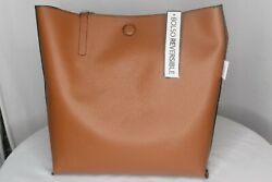George Brand Reversible Tote with Magnetic Closure. BlackBrown. Never used