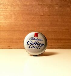 Michelob Golden Light Bottle Cap Drawer Pull. Rustic Antique Recycled