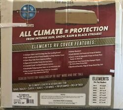 Elements Tyvek Rv Toy Hauler Cover Fits Up To 20and039/102andrdquowide X 116andrdquo Tall-84030-1