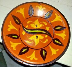 Plate Earthenware Multan Hand Painted Ceramic Decorative Collectibles Flower Old