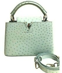 Womens Designer Louis Vuitton Capucines BB Bag