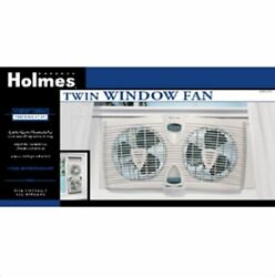 Window Fan Twin Dual Blade HAWF2030 with Thermostat 2 Speed Adjustable Extender