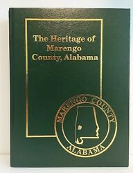 The Heritage of Marengo County Alabama Hard Back Book