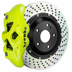 Brembo Bbk For 15-18 M3 Excl. Carbon-ceramic Rear 4pot Yellow 2s1.9013a7