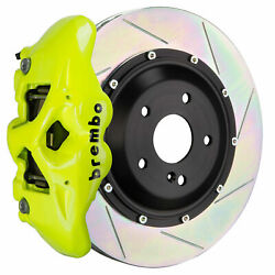 Brembo Gt Bbk For 05-11 G55 Amg   Rear 4pot Yellow 2s2.9009a7