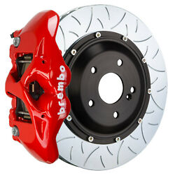 Brembo Gt Bbk For 10-11 997.2 Gt3 / 997.2 Gt3rs Pccb   Rear 4pot Red 2s3.9018a2