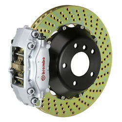 Brembo Gt Bbk For 96-05 550 / 575 Excl. Gtc | Rear 4pot Silver 2c1.8010a3