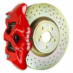 Brembo Gt Bbk For 15-19 Wrx Excl. Models W/ Electronic   Front 4pot 1s4.6002a0