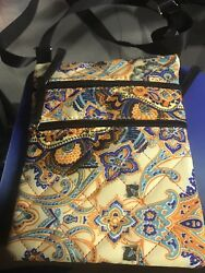 Womens Kaleidoscopic Floral Design Purse (8.5 By 6.5 Inches) $9.99