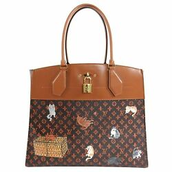 Louis Vuitton Limited Edition Catogram City Steamer Cabas XXL Bag