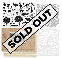 Hero Arts My Monthly Hero April 2020 Kit Stamps Dies Australia Sold Out