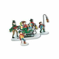 Department 56 Dickens A Christmas Carol Caroling With The Cratchit Family Re...