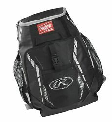 Rawlings R400 Youth Players Team Equipment Backpack Black