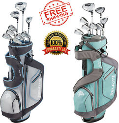 Ladies Golf Package Set Complete 12-piece Xl Choose Set Right Or Left Handed New