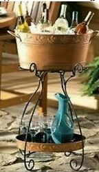 """Princess House 2363 Serving Bucket 21"""" X 12"""" With Liner And Tray $596.54"""