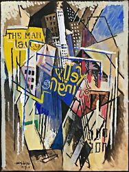 Kelly Springfield Painting By Albert Gleizes Reproduction