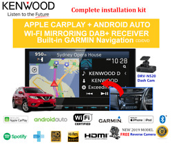 Kenwood Dnx9190dabs For Nissan X-trail 2014-2019 T32 - Stereo Upgrade