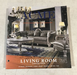 Acme Furniture Catalog 2020 And 2021 Living Room Collection Paperback