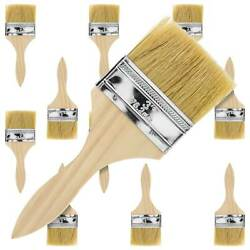 Us Art Supply 3 Chip Brushes Paint Glue Adhesives Touchups 3 Inch Lot Of 12
