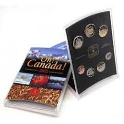 2002 Oh Canada Royal Canadian Mint Uncirculated Coin Set 7 Coins