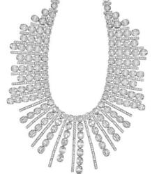 CLEARANCE! NWT $320809 GORGEOUS 18KT RARE 40CT WINSTON STYLE DIAMOND NECKLACE