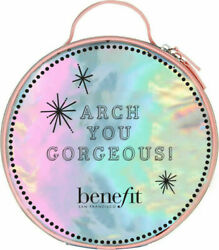Benefit Cosmetics Arch You Gorgeous Irridescent Brows Round Large Cosmetic Bag $9.90