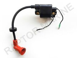 Ignition Coil Assembly For Yamaha Outboard Pn 6h3-85570-10-00