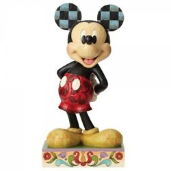 Jim Shore Disney Traditions Mickey Mouse Statement Figurine 4056755