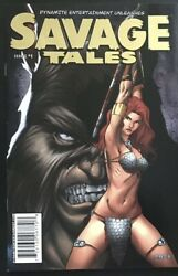 Savage Tales 1 Gold Variant Red Sonja 2007 Comic Book Rare