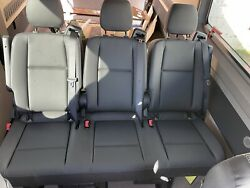 2019 To 2022 Mercedes Sprinter 3 Person Bench Seat Leatherette Recliner Braket