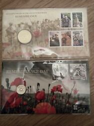 2008 And 2015 Remeberance Day Limited Pnc At The Same Number Of 902 / 1111-rare