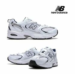 New Balance 530 Retro White Silver Navy Running Shoes Mr530sg Menand039s