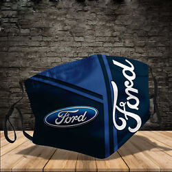 Ford Motor Company Cloth Face Mask Print 3D $13.95