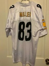 Pittsburgh Steelers Heath Miller Size Large Jersey