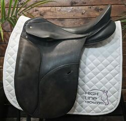 18 Schleese Ostergaard Dressage Saddle Girth And Stirrups/leathers Included