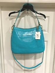 NWT HOBO Turquoise Vintage Hide Leather Large Double Strap Purse Strap $298. $149.89