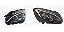 Headlight Pair Led For Mercedes W205 A2059068002 A2058202961 Magneti Marelli