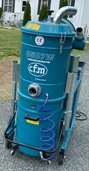 Nilfisk Cfm 3507w A Continuous Duty Industrial Vacuum Heavy Duty New